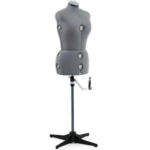 Singer - Gray Adjustable Dress Form- Medium/Large - DSF151MLGR
