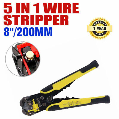 Professional Automatic Wire Stripper Cutter 8inch Usa Stock