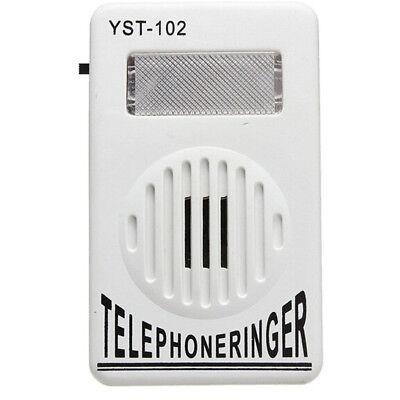 Flasher Strobe Phone Ringing Extra-Loud Telephone Ringtones Amplifier Ringer