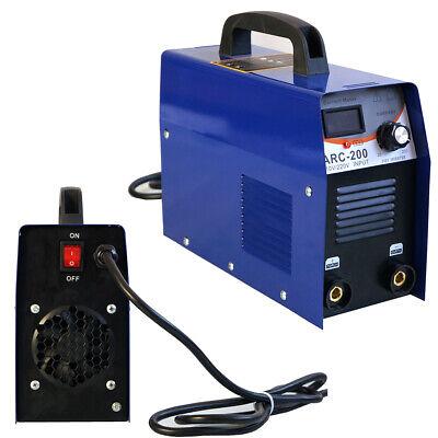 110v Dc Inverter Welder Mini Handheld Arc Welding Machine Mma 20-200a Igbt Best