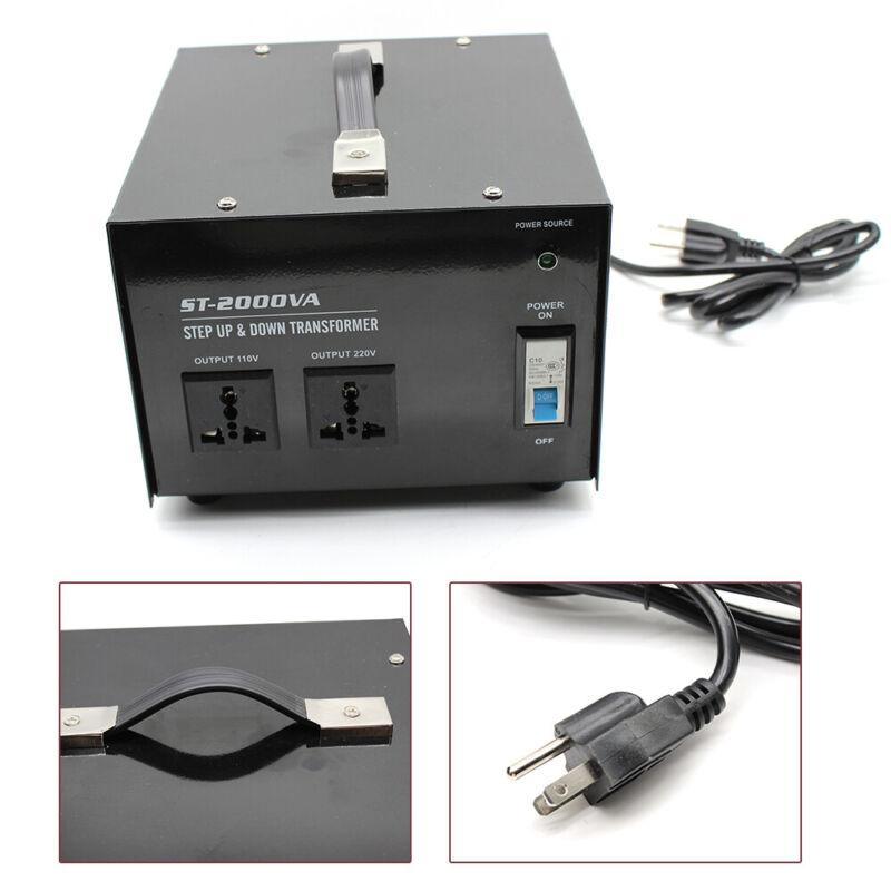 1500W Voltage Transformer Converter Home Commercial 110V to 220V 220V to 110V US