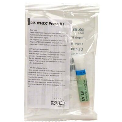 Ivoclar Ips Emax Press 5 Ingots Ht-a3 E-max 626322