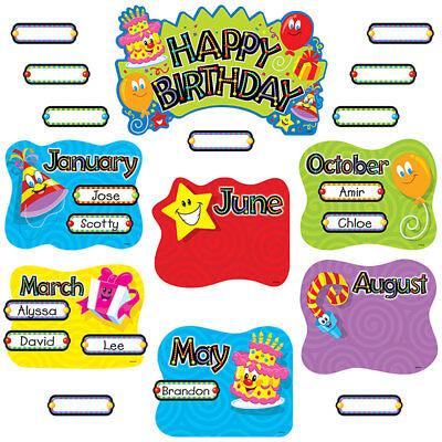 Birthday Festival Bulletin Board Set Trend Enterprises Inc. T-8709