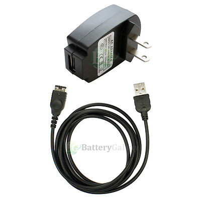 Battery Wall AC Charger+USB Cable for Nintendo DS NDS Gameboy Advance GBA SP