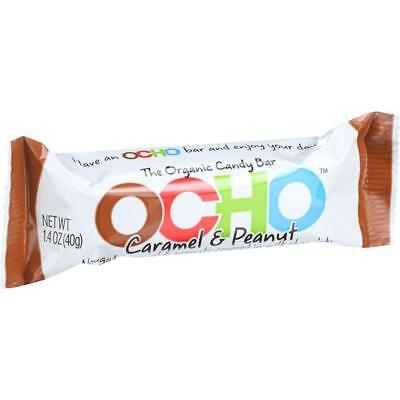 Ocho Candy-Caramel & Peanut Candy Bar (18-1.4 oz bars)