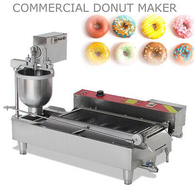 Electric Automatic Donut Maker Doughnut Machine Fryer 7l Hopper 850-1100pcsh Us