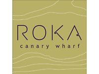 ROKA - Waiter Open Day