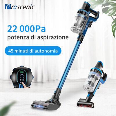 Proscenic P10 Aspirapolvere Senza Fili Scopa Elettrica Display Toccabile 22KPa