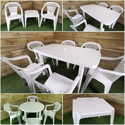 Garden Furniture - Choice of Sturdy Lightweight Resin Garden Furniture Sets