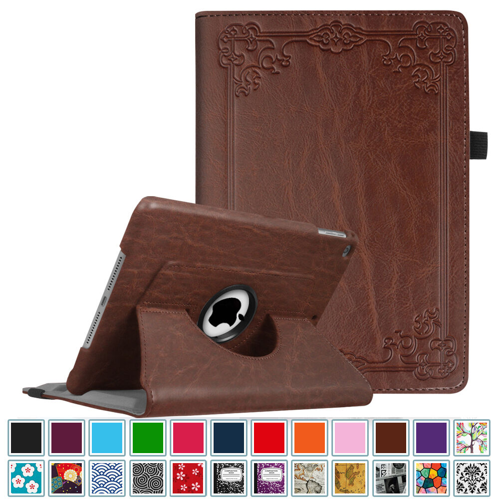 "Fintie For iPad 9.7"" 2017 Rotating PU Leather Case Cover Sta"