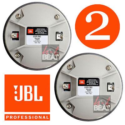 """JBL / Selenium D220Ti Trio 1"""" 8 ohm Titanium Driver for Screw On Horn, PAIR 2pc comprar usado  Enviando para Brazil"""