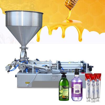 50-500ml Pneumatic Double Head Liquid Paste Filling Machine 1-30bottlesmin 110v