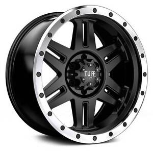 """18"""" Tuff T16 Wheels&Tyres Hilux Ranger Triton Colorado Frankston Frankston Area Preview"""