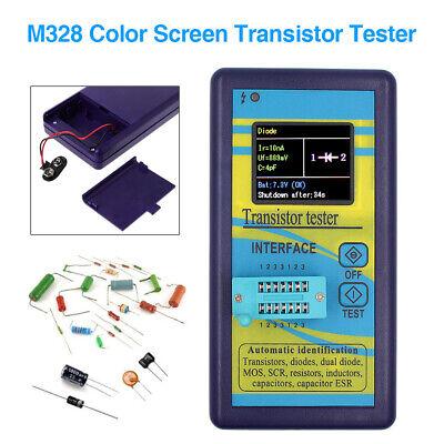 M328 Transistor Tester Diode Resistor Capacitance Meter Esr Instrument Lcr Meter