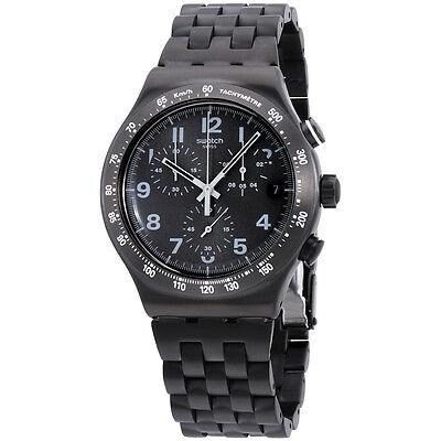 a150ebbcb8e ... Swatch Irony Destination Soho Black Dial Stainless Steel Men s Watch  YVM402G 21fb681e6c4 ...