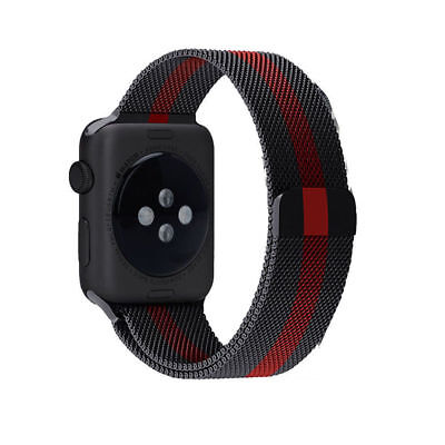 Milanese Loop Gucci Pattern iWatch Band for Apple Watch Stainless...