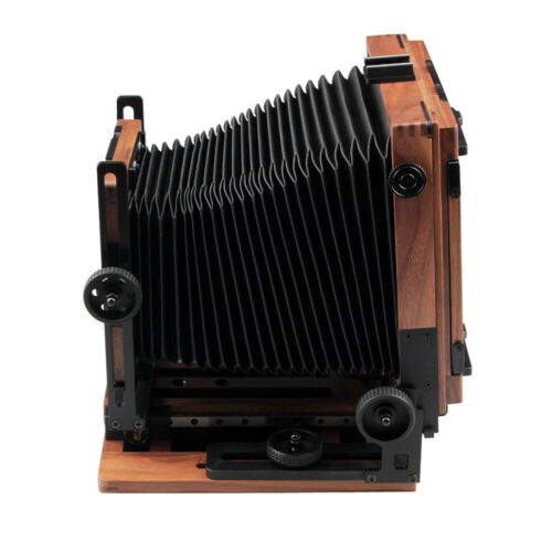 как выглядит Shen Hao SH PTB45 Walnut Wood Field Folding 4X5 quot; Large Format Film Camera фото
