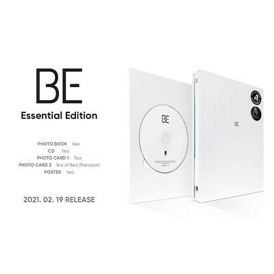 BTS BE Essential Edition CD+Photobook+Photocard+Etc+Tracking Number