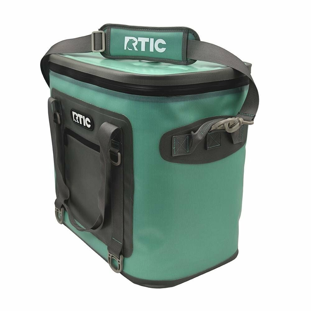 RTIC Soft Pack 40, Seagreen Cooler Camping SoftPak Flipper H