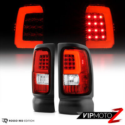 """1994-2001 Dodge RAM 1500 2500 3500 """"Factory RED OLED Cyclop OpTiC"""" Tail Lights"""