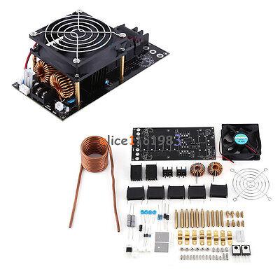 Dc12-36v 1000w 20a Zvs Tesla Induction Heating Board Heater Cooling Fan Diy Kit