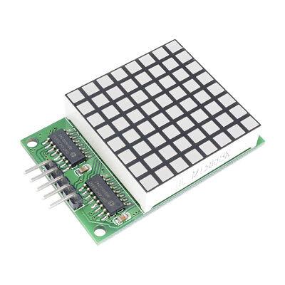 88 Matrix Red Led Display Dot 74hc595 Driver Module For Arduino Uno Mega2560