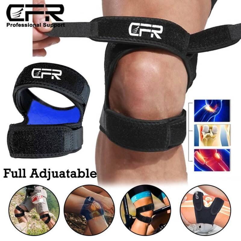 Knee Support Arthritis Running Brace Pads Bandage Straps Protector Sports Gym UK