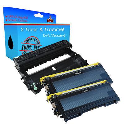 2 Toner & Trommel TN / DR 2000 für Brother Fax-2820 Fax-2825 Fax-2910 Fax-2920 online kaufen
