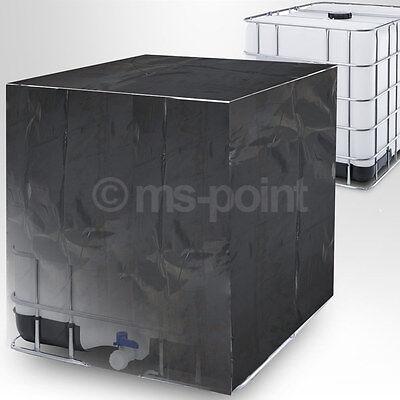 IBC Tank Abdeckung Regenwassertank Container Folie Schutzplane Haube 1000 Liter