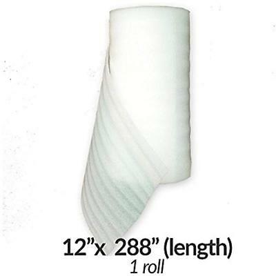 """Foam Wrap Rolls Protect Glasses Dishes Packing Storing Shipping 12""""x288"""" 1-Roll"""