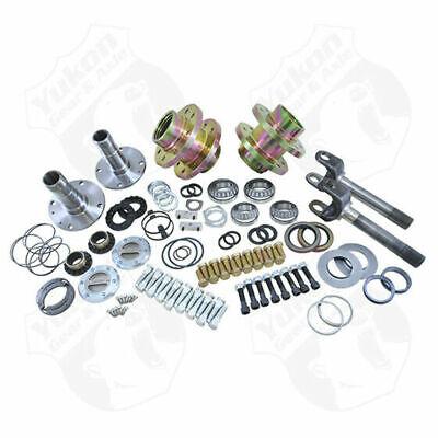 Spin Free Locking Hub Conversion Kit For Dana And Aam 00-08 Drw Dodge Yukon Gear