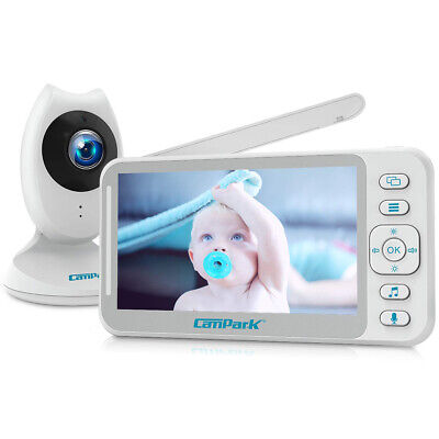 "Campark 4.3"" FHD Color Video Baby Monitor Camera Split Screen Video Night Vision"