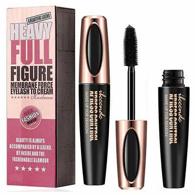 4D Silk Fiber Eyelash Mascara Extension Makeup Black Waterproof Eye Lashes US