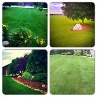LAWN CUTTING, property maintenance, flower bed maintenance