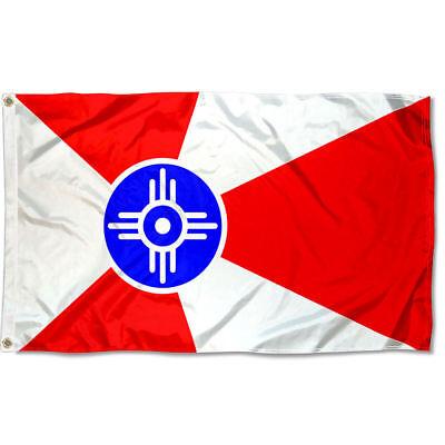 City of Wichita Flag for Flagpole