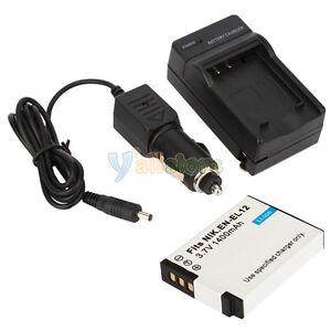 EN-EL12-ENEL12-Battery-Charger-for-Nikon-CoolPix-S8100-S6100-S1100pj-S610