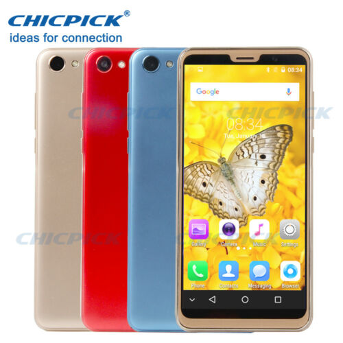 Android Phone - Unlocked 5.5 inch Android 8.0 3G Smartphone Mobile Cell phone GSM Dual SIM 1+8G