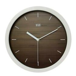 hito Silent Wall Clock Non Ticking 12  Excellent Sweep Movement (A whiteframe)