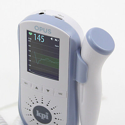 Baby Heart Monitor - Fetal Heartbeat Doppler Rechargeable Battery Fda Approved