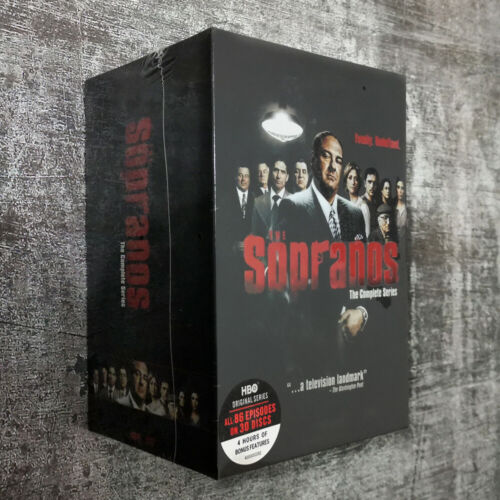 The Sopranos The Complete Series (DVD,30-Disc Box ) Brand new & sealed US seller