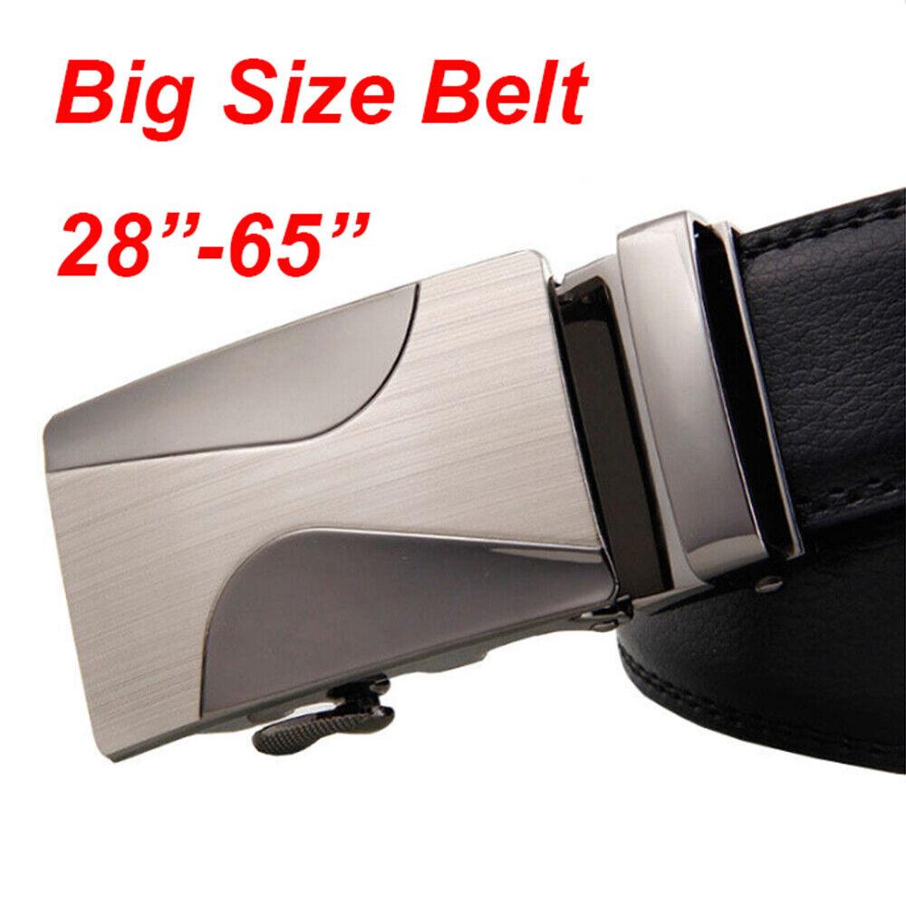 "Top Quality Casual Belts for Men Genuine Leather Belt Brown belt Big Size 30-62/"""