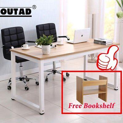Wood Computer Desk PC Laptop Table Study Workstation Home Office Furniture best