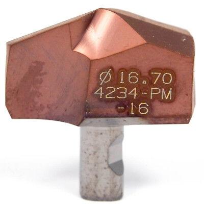 Sandvik Carbide Replaceable Drill Tip 870-1670-16-pm 4234 - 2 Pcs
