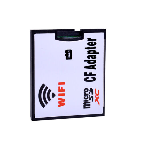 WIFI Memory Card Adapter TF Micro SD to CF Compact Flash Card Kit For Digit US
