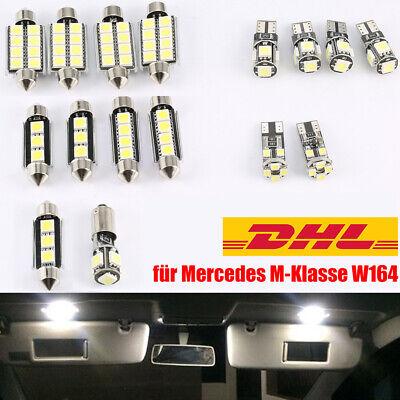 SMD LED Innenraumbeleuchtung für Mercedes M-Klasse W164 ML Innenbeleuchtung Benz
