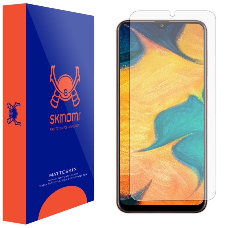 Skinomi Matte Screen Protector for Samsung Galaxy A20 [SM-A205G-DS]