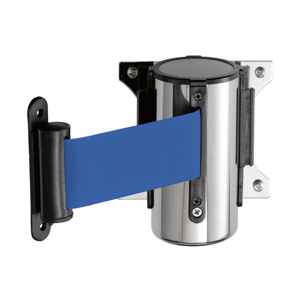 Wall Mounted Barrier Tape Crowd Control Retractable