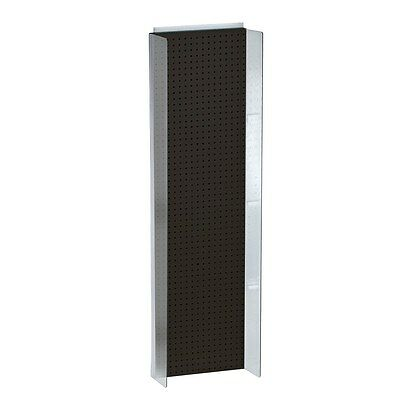 New Retails Black Pegboard Powerwing Display 16.75w X 60high