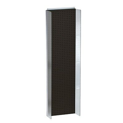Styrene Pegboard Powerwing Display In Black 16.75w X 60h Inches