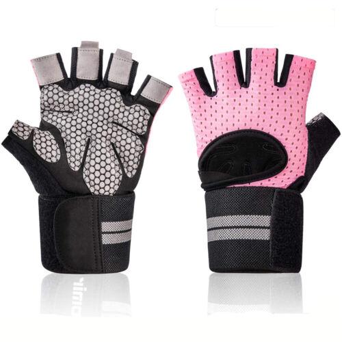 Half Finger Workout Gloves Sport Weight Lifting Exercise Fitness Women Men Gym